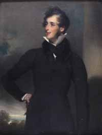 Hugh Hamiton LIndsay, painted by George Chinnery, copyright Sir W. Young.