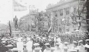 Unveiling of statue of Sir Robert Hart, 25 May 1914