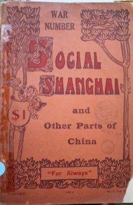 Social Shanghai cover 1914